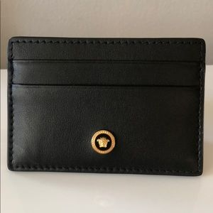 Versace Medusa Card Holder Wallet